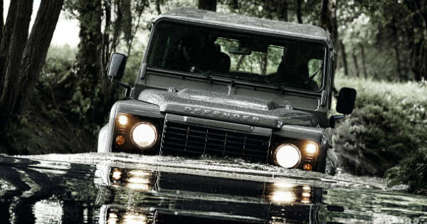 Jaguar Land Rover Automotive Defender 4