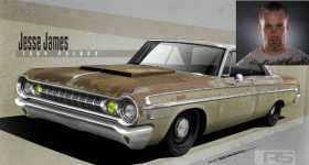 Jesse James Will Unveil His New Twin-Turbo 1964 Dodge Polara at 2017 SEMA SHOW 11