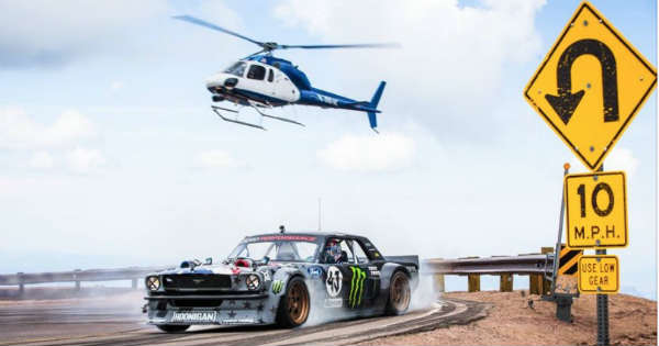 Ken Blocks Climbkhana at Pikes Peak 2