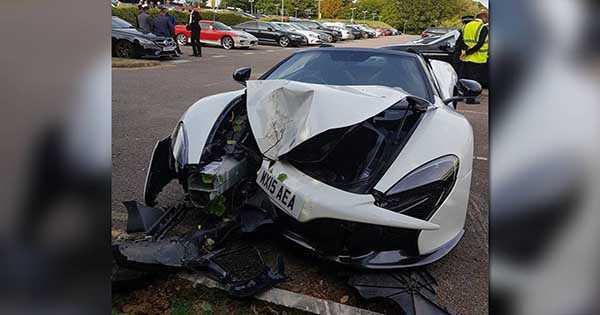 McLaren Car Pulled Bush 2