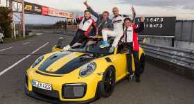 New Porsche 911 GT2 RS Sets a World Record on the Nrburgring Nordschleife 1