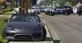 Porsche Crashed Into Crowd 1