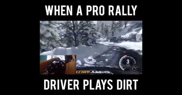 Professional Rally Driver Dirt 2