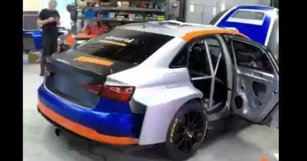 Race Car Wrapping Process 2