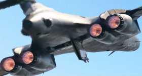 Rockwell B-1 Lancer jet launch 3