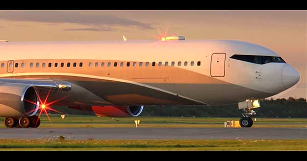 roman abramovich is using a 80m boeing 767 airplane as