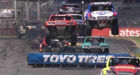 Stadium Super Trucks Race Perth Australia 11