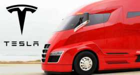 TESLA Semi Truck Will Be Unveiled On 26 October 1