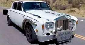 Turbocharged 1978 Rolls Royce Silver Shadow II 1