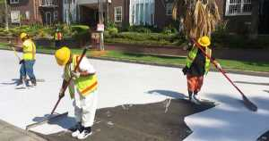 Why LOS ANGELES Streets Are Being Painted WHITE 1