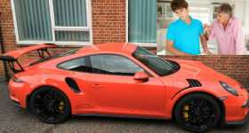 15-Year-Old Boy Drives Back Home in a Porsche 1