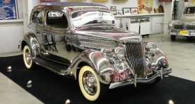 1936 Stainless Steel Ford In Indiana 1