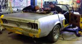 1967 Ford Mustang Convertible Restoration 1