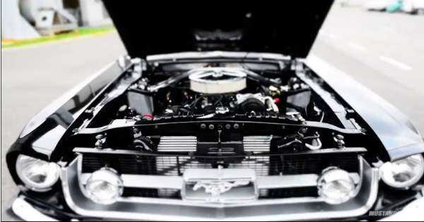 1967 Ford Mustang Convertible Restoration 2