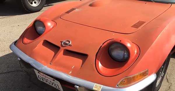 Opel gt headlights