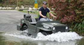 2WD 4WD MINI BEEP Jeep Amphibious Off Road Truck 11