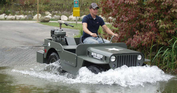 Build Your Own MINI BEEP (Jeep) Amphibious Off Road Truck