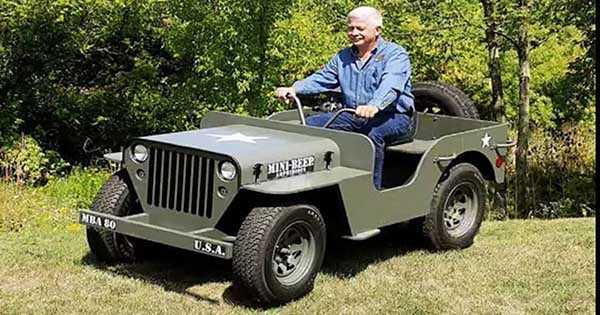 2WD 4WD MINI BEEP Jeep Amphibious Off Road Truck 2