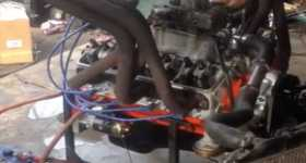 350 Chevrolet Engine Gets Completely Wrecked 11