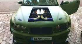 BMW M3 E46 Powered by Dodge Viper 80L V10 ENGINE 11