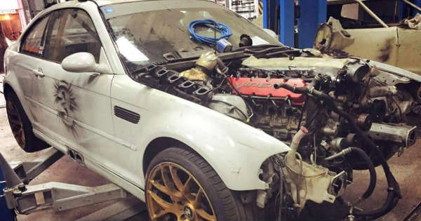 BMW M3 E46 Powered by Dodge Viper 8.0L V10 ENGINE ...