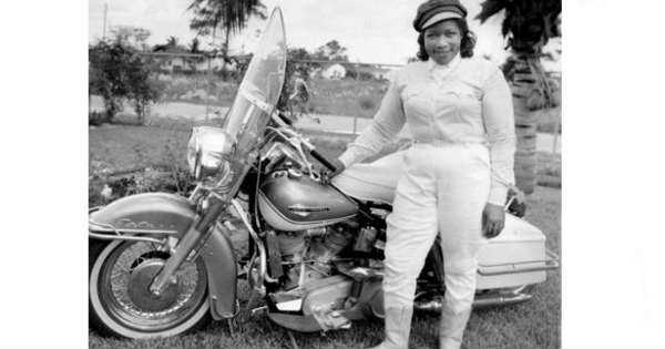 Bessie Stringfield Racing Legend Harley Davidson Bike 1930 1