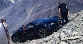 Bugatti Veyron Crash Andes Mountains 1