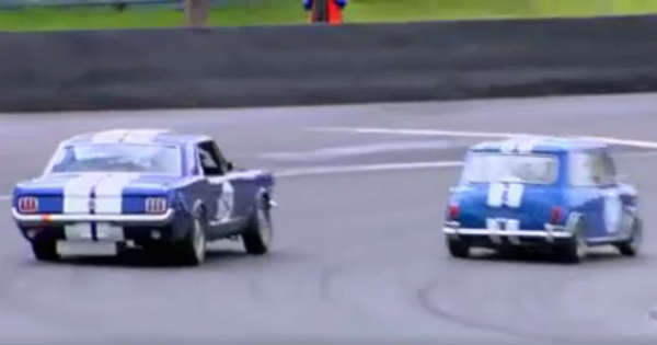 Classic Pro-Touring Mustang Goes Head-to-Head With A Ridiculously Fast MINI 2