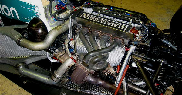Close Look at the 1450HP Formula 1 BMW Turbo 1