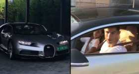 Cristiano Ronaldo Bought 2017 Bugatti Chiron For 3 Million 1