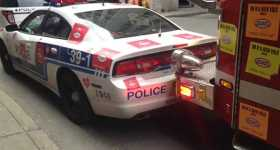 Fire Truck To Smash Police Car And BMW 2