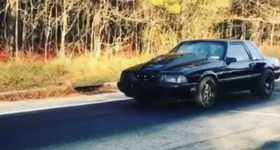 Ford Fox Body Mustang Wheelstand 1