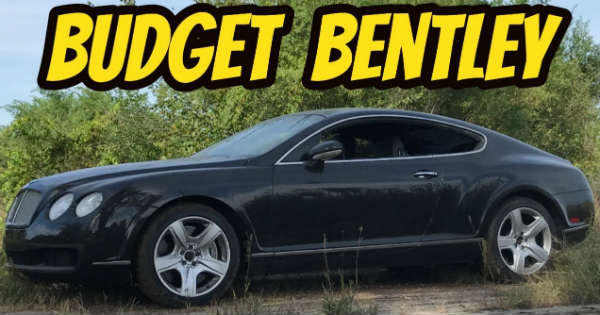 He Bought The Cheapest Bentley Continental GT In The US 1