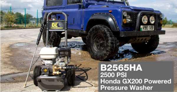 Honda Water Pressure Washer 2