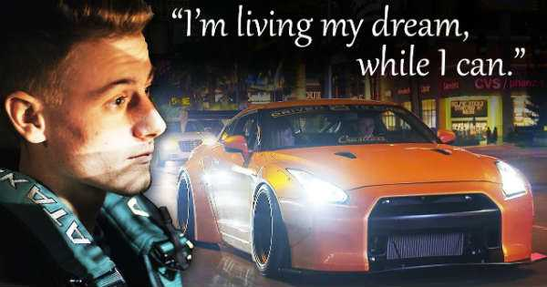 Inspirational Story Gearhead Fights Cancer Show Car GTR Nissan 3