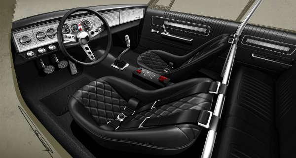 Jesse James Will Unveil His New Twin-Turbo 1964 Dodge Polara at 2017 SEMA SHOW 2