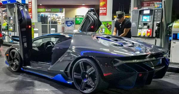 Lamborghini Centenario Vs Bugatti Chiron Jaguar F Type Svr 2