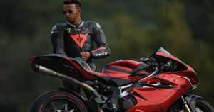 Lewis Hamilton Motorbike mv agusta Custom Bike 11