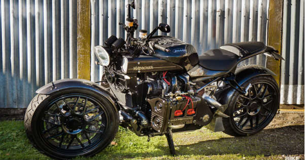 MADBOXER Subaru WRX Engine Powered MOTORCYCLE 1