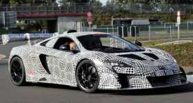 McLaren P15 Mule Spotted 1