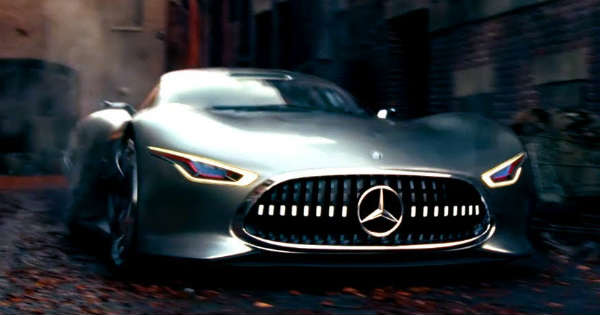 Another Movie Mercedes Benz Comes Into Reality In The New Justice League Movie!