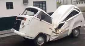 Nothing Can Stop The Mighty Volkswagen Minivan 1