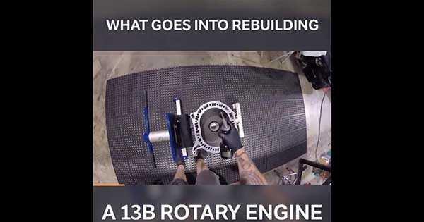 Rebuilding A 13B Rotary Engine 2