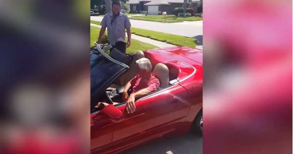 Son Buys Dad His Dream Car 1