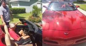 Son Buys Dad His Dream Car 11