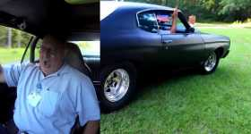 Son Takes Father For A Ride in a 700HP Chevelle 1