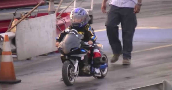 Super Talented Kids on Motorcycles 2