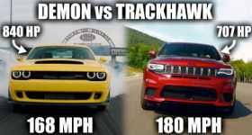 The Jeep Trackhawk Is Faster Than The Dodge Demon 1