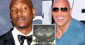 The Rock Tyrese Gibson Album Black Rose Fast Furious 1