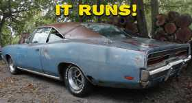 This 1969 Dodge Charger Has Been Powered Up After 20 Years 1
